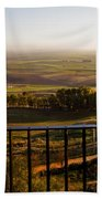 Cultivated Land In Spain Beach Towel