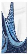 Curves - Archifou 42 Beach Towel