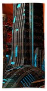 Cyber Innovation Beach Towel