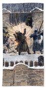 Czars Assassination, 1881 Beach Towel