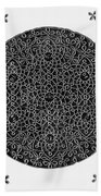 Da Vinci: Sixth Knot Beach Towel