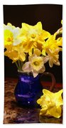 Daffodil Bouquet Beach Towel