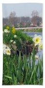 Daffodils In Holland 01 Beach Towel