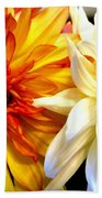 Dahlia Days Beach Towel
