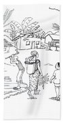 Daily Life In South And Center Cameroon 02 Beach Towel