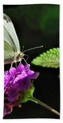 Dainty Butterfly 2 Beach Towel
