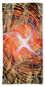 Dance Of Fires  Beach Towel