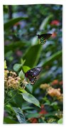 Dance Of The Butterflies Beach Towel