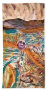 Dance Of The Elements Beach Towel