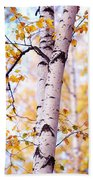 Dancing Birches Beach Towel