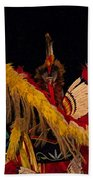 Dancing Feathers Beach Towel