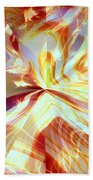 Dancing With Fire Beach Towel