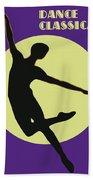 Classical Dancer Beach Towel