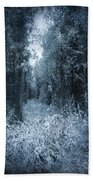 Dark Place Beach Towel by Svetlana Sewell