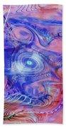 Darkness In The Mind Beach Towel by Deborah Benoit