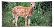 Darling Fawn Beach Towel