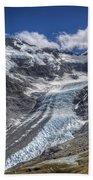 Dart Glacier Above Cascade Saddle Mount Beach Towel