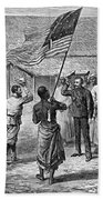 David Livingstone, Scottish Missionary Beach Towel by Photo Researchers