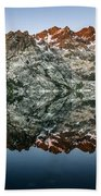 Dawn At Upper Sardine Lake Beach Towel