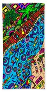 Day Out On Holidays Beach Towel