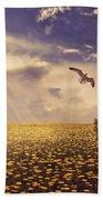 Daydream Beach Towel by Lourry Legarde