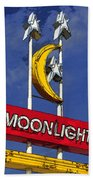 Daylight At The Moonlight Beach Towel