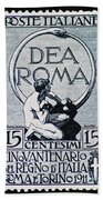 Dea Roma Beach Towel