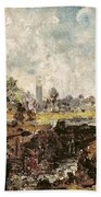 Dedham Lock Beach Towel