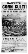 Deere Plow, C1866 Beach Towel
