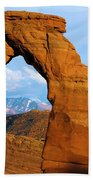 Delicate Arch Closeup Beach Towel