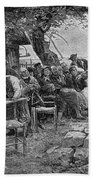 Denmark: Fishermen, 1901 Beach Towel