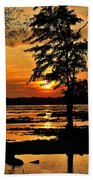 Deschenes Sunset Beach Towel