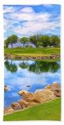 Desert Golf Beach Towel
