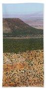 Desert Watch Tower View Beach Towel