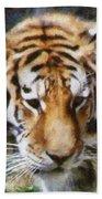Detroit Tiger Beach Towel