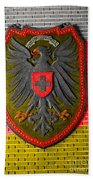 Deutsch Weimarer Shield Beach Towel