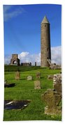Devenish Monastic Site, Co. Fermanagh Beach Towel