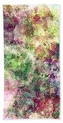 Digital Abstract Beach Towel