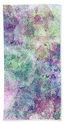 Digital Abstract II Beach Towel