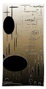 Digital Dimensions In Brown Series Image 2 Beach Towel