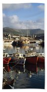 Dingle, Co Kerry, Ireland Boats In A Beach Towel