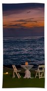 Dinner Setting In Paradise Beach Towel
