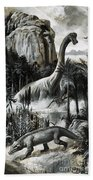 Dinosaurs Beach Towel