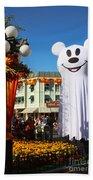 Disneyland Halloween 1 Beach Towel