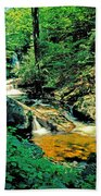 Distant Ozone Falls And Rapids - Summer Beach Towel