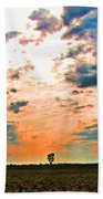 Distant Tree Beach Towel