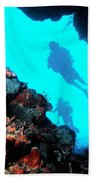 Diver Down Beach Towel