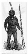 Diving Suit, 1855 Beach Towel