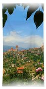 Do-00547 Town Of Bcharre Beach Towel