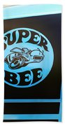 Dodge Charge Super Bee Logo  Beach Towel